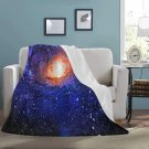 "Supernova Galaxy Blanket 60"" X 80"" Ultra-Soft Micro Fleece Hight Quality Blankets Best Choice"