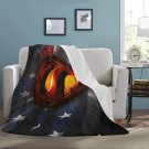 "Superman America Flag Blanket 60"" X 80"" Ultra-Soft Micro Fleece Hight Quality Blankets Best Choice"