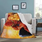 "Spiderman Superhero Blanket 60"" X 80"" Ultra-Soft Micro Fleece Hight Quality Blankets Best Choice"
