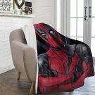 "Deadpool Superhero Blanket 60"" X 80"" Ultra-Soft Micro Fleece Hight Quality Blankets Best Choice"