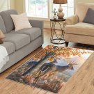 Deer Family Life Area Rug Carpet Living Room 5'x3'3'' Home Kichent Coffe's Most Popular Area Rugs