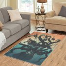 Octopus Attack Area Rug Carpet Living Room 5'x3'3'' Home Kichent Coffe's Most Popular Area Rugs
