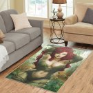 Poison Ivy Area Rug Carpet Living Room 5'x3'3'' Home Kichent Coffe's Most Popular Area Rugs