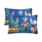Sonic the Hedgehog Set 2 Pillow Case 20 x 30 Set 2 One-Side Printed Best Pillow Quality Fabric