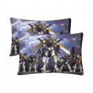 New Mobile Suit Gundam Set 2 Pillow Case 20 x 30 One-Side Printed Best Pillow Quality Fabric