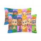 Kid Bubble Guppies Set 2 Pillow Case 20 x 30 One-Side Printed Best Pillow High tQuality Fabric