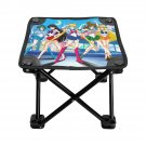 Sailor Moon Best Folding Fishing Stool Outdoor Folding Seat Popular Fishing BBQ Picnic Chair Camping