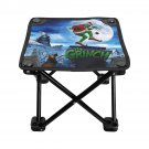 How the Grinch Stole Christmas Folding Fishing Stool Outdoor Seat Fishing BBQ Picnic Chair Camping