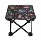 Galaxy Space Nebula Folding Fishing Stool Outdoor Seat Popular Fishing BBQ Picnic Chair Camping
