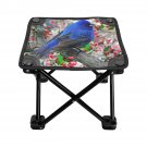 Beautiful Birds Folding Fishing Stool Outdoor Folding Seat Popular Fishing BBQ Picnic Chair Camping