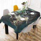 Wolves Wolf Tablecloth Table Cover Home Cafe Adorn Kitchen & Dining High Quality Popular Tablecloth