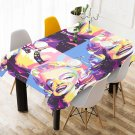 Retro Marilyn Monroe Tablecloth Table Cover Home Cafe Adorn Kitchen & Dining Popular Tablecloth