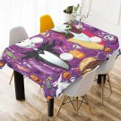 Jack Sally Nightmare Before Christmas Tablecloth Table Cover Home Cafe Adorn Kitchen & Dining
