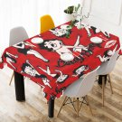 Personalized Betty Boop Tablecloth Table Cover Home Cafe Adorn Kitchen & Dining Quality Tablecloth