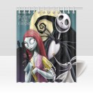 Sally Jack The Nightmare Before Christmas Shower Curtains Best Top most popular Bath Waterproof