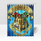Hogwarts Crest Gryffindor Ravenclaw House Shower Curtains Best Top popular Curtains Bath Waterproof