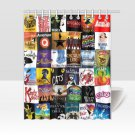 Broadway Shows Musicals Shower Curtains Best Top popular Curtains Bath Durable Waterproof Fabric