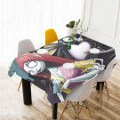 Nightmare Before Christmas Tablecloth Table Cover Home Cafe Adorn Kitchen Dining Popular Tablecloth