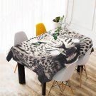 Cheetah Animal Table Cover Home Cafe Adorn Kitchen & Dining Popular Tablecloth
