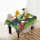 Parrot Great Green Macaw Table Cover Home Cafe Adorn Kitchen & Dining Popular Tablecloth