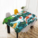 Koi Fish Great Fish Table Cover Home Cafe Adorn Kitchen & Dining Popular Tablecloth