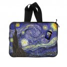 Starry Night Dr Who (Twin Sides) Laptop Sleeve 15 inch Popular Best Laptop Cases Covers Waterproof