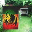 Rasta Reggea Rastafarian Garden Flag popular Outdoor Seasonal Flags Weatherproof Fabric