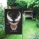 Venom Garden Flag popular Outdoor Seasonal Flags Weatherproof Fade Resistant fFabric