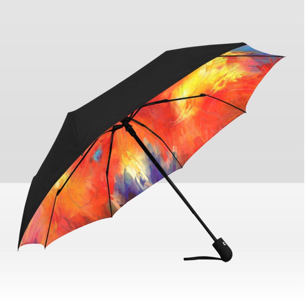 Abstract Art Rain Mate Travel Umbrella Anti-UV Waterproof popular BEST GIFT Portable Foldable