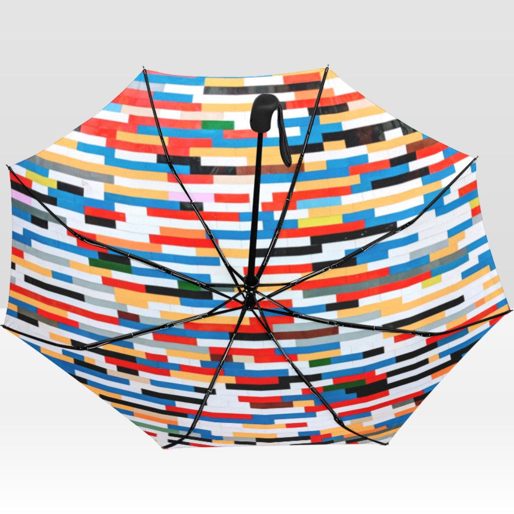 Bricks Abstract Rain Mate Travel Umbrella Anti-UV Waterproof popular BEST GIFT Portable Foldable