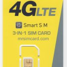 mrsimcard.com -  H2O 3-in-1 Smart Triple SIM Card - Yellow