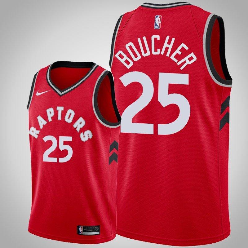 hot sale online 34d20 1f160 Youth Toronto Raptors #25 Chris Boucher Red Icon Edition swingman Jersey