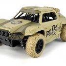 Kids RC Car Truck 1:18 4WD  Rock Crawler Remote Control  2.4Ghz color Army Yellow