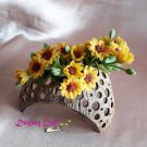 Mini Sunflowers for Fairy Garden or Dollhouse Decoration