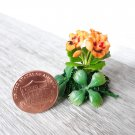 miniature pansy flower-Dollhouse Flower-Miniature Garden-Artificial flowers-Dollhouse plants