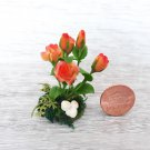 Roses-Miniature Roses -Miniature-Artificial Flowers-dollhouse plants