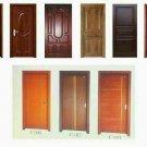 Minimalis wooden door