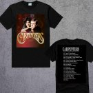 THE CARPENTER BAND GREATEST HITS T-SHIRT ALBUM MOST POPULAR MUSIC ADULT TEE UNISEX SHIRTS TWO SIDE