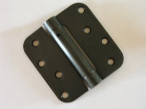 "4"" Oil Rubbed Bronze ADJ Spring Hinge Close Automatic"