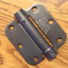 "Oil Rubbed Bronze 3 1/2"" ADJ Spring Hinge Close Automatically"