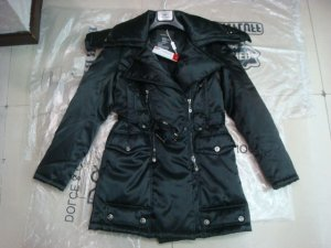 Black Cotton coat