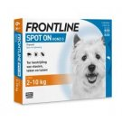 Frontline Spot On Flea and Tick Treatment for Dogs 4-22Lb 3 Pipettes