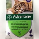 Advantage Flea Treatment for Cats more 8lb by bayer