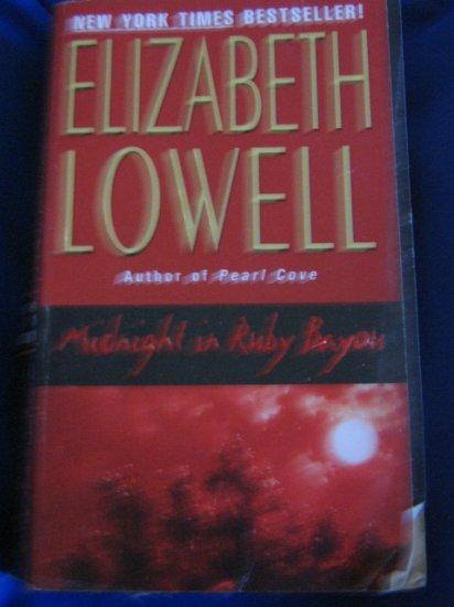 Midnight in Ruby Bayou ~ Elizabeth Lowell ~ 2001 ~ PB ~ suspense