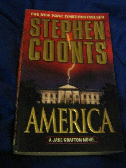 America ~ a Jake Grafton Novel ~ Stephen Coonts ~ 2002 ~  PB ~ suspense