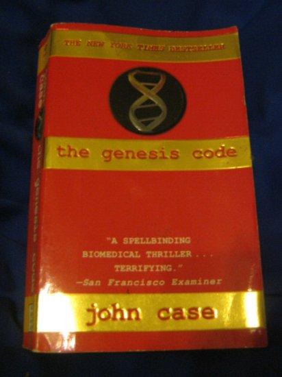 The Genesis Code ~ John Case  ~ 1997 ~  PB ~ suspense