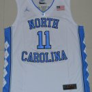 2019 North Carolina Tar Heels Brice Johnson 11 College Basketball Jersey White