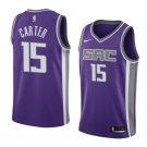 2019 MenS Vince Carter Jersey Sacramento Kings #15 Icon Edition