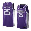 2019 MenS Justin Jackson Jersey Sacramento Kings #25 Icon Edition