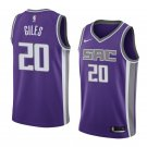 2019 MenS Harry Giles Jersey Sacramento Kings #20 Icon Edition
